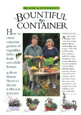 McGee & Stuckey's Bountiful Container By McGee, Rose Marie Nichols/ Stuckey, Maggie/ Hill, Michael A. (ILT)